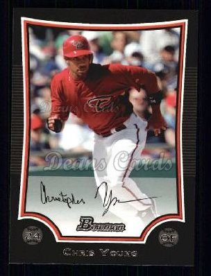 2009 Bowman #155  Chris Young