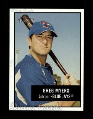 2003 Bowman Heritage #43  Greg Myers