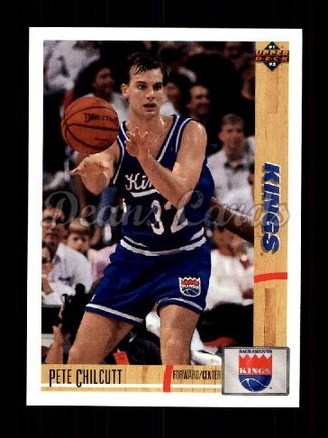 1991 Upper Deck #415  Pete Chilcutt