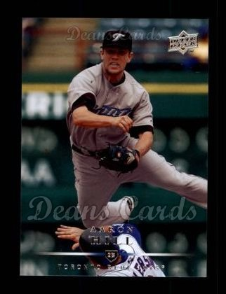 2008 Upper Deck #37  Aaron Hill