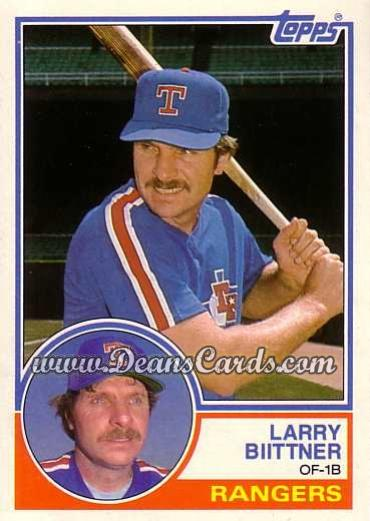 1983 Topps Traded #10 T Larry Bittner
