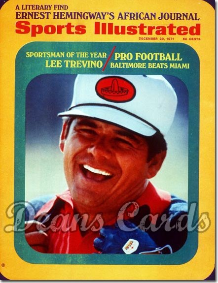 1971 Sports Illustrated - No Label   December 20  -  Lee Trevino (Sportsmanofthe Year)