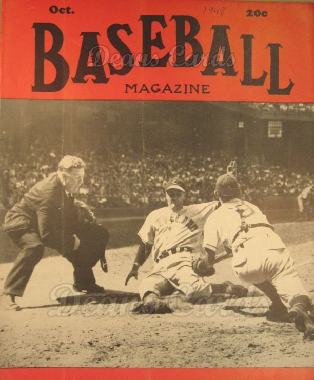 1948 Baseball Magazine    October