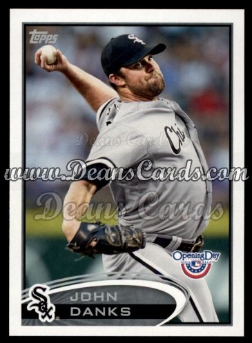 2012 Topps Opening Day #203  John Danks