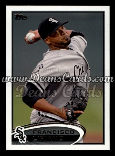 2012 Topps Update #1  Francisco Liriano