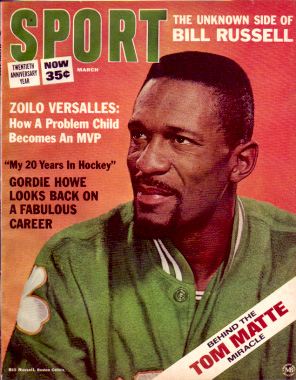 1966 Sport Magazine   -  Bill Russell  March