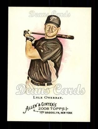 2008 Topps Allen & Ginter #152  Lyle Overbay