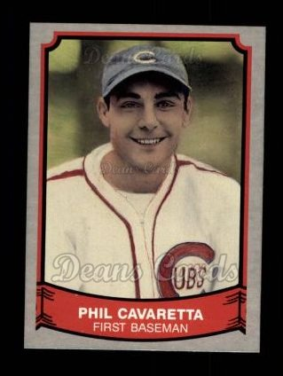 1989 Pacific Legends #131  Phil Cavarretta
