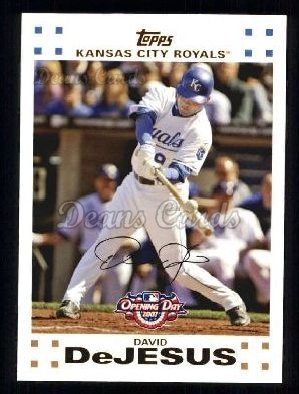 2007 Topps Opening Day #162  David DeJesus