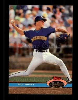 1991 Topps Stadium Club #372  Bill Swift