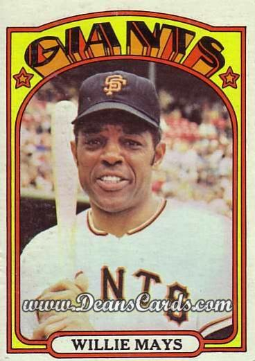 1972 O-Pee-Chee #49  Willie Mays