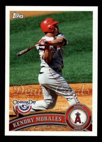 2011 Topps Opening Day #153  Kendry Morales