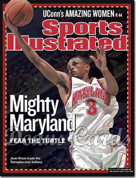 2002 Sports Illustrated   April 8  -  Juan Dixon Maryland Terrapins