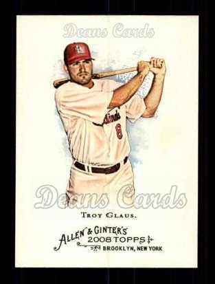 2008 Topps Allen & Ginter #88  Troy Glaus