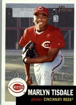 2002 Topps Heritage #125  Marlyn Tisdale