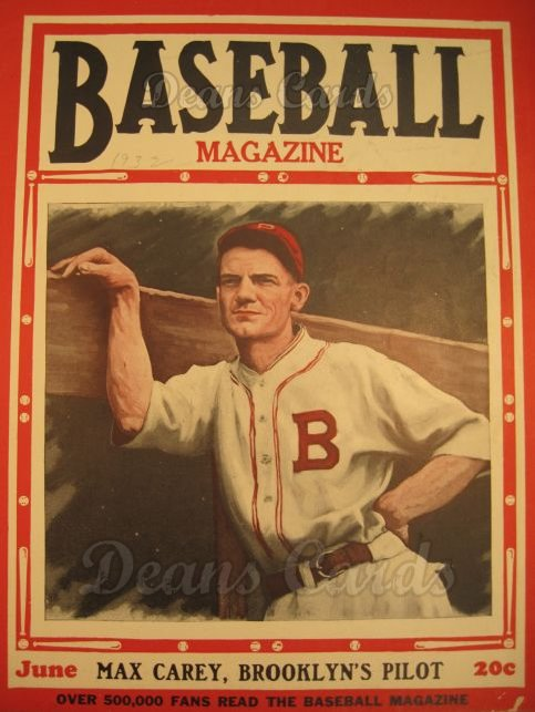 1932 Baseball Magazine    June