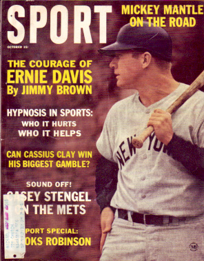 1963 Sport Magazine   -  Mickey Mantle  October