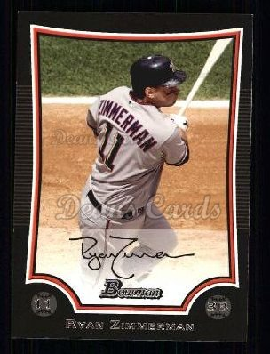 2009 Bowman #152  Ryan Zimmerman