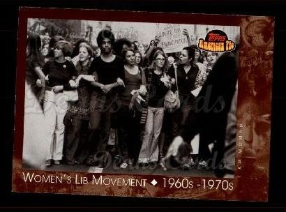 2001 Topps American Pie #132   Women's Lib Movement