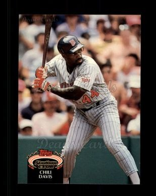 1992 Topps Stadium Club #18  Chili Davis