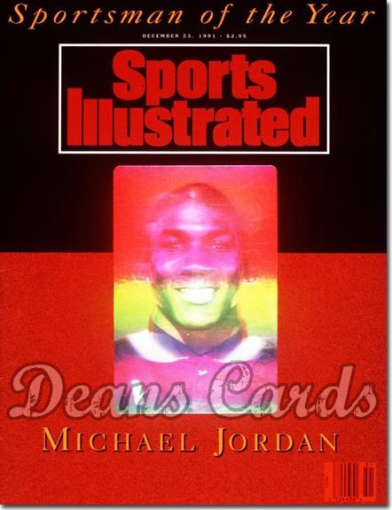 1991 Sports Illustrated   December 23  -  Michael Jordan (Chicago) (Sportsman of the Year)
