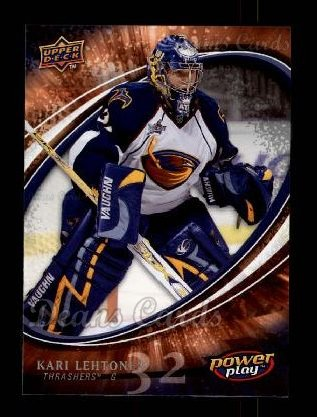 2008 Upper Deck Power Play #17  Kari Lehtonen