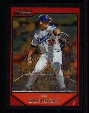 2007 Bowman Chrome #17  Chad Billingsley