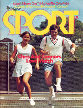 1974 Sport Magazine   -  Jimmy Connors / Chris Evert  July