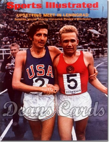 1970 Sports Illustrated - With Label   August 3  -  Frank Shorter