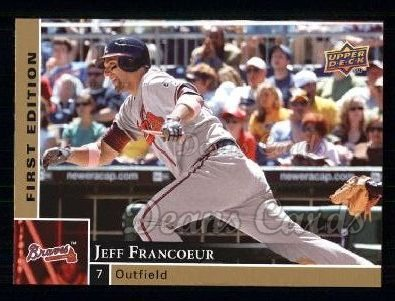 2009 Upper Deck First Edition #21  Jeff Francoeur