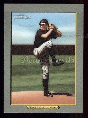 2005 Topps Turkey Red #19  Jeff Francis