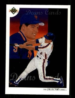 1991 Upper Deck #95   -  Gregg Jefferies New York Mets Team