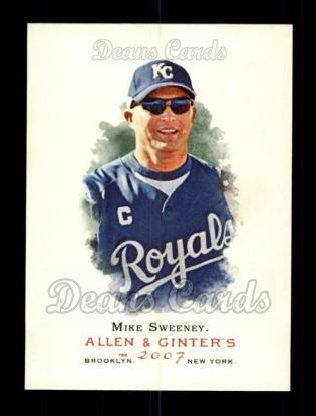 2007 Topps Allen & Ginter #81  Mike Sweeney