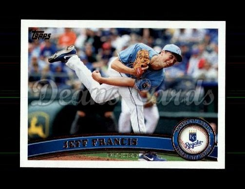 2011 Topps Update #71  Jeff Francis