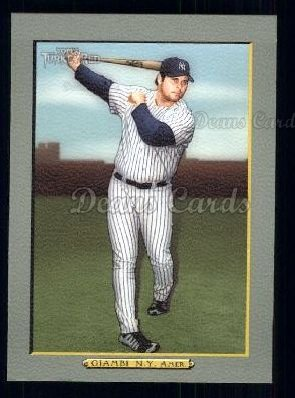 2005 Topps Turkey Red #260  Jason Giambi