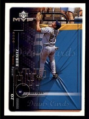 1999 Upper Deck MVP #116  Jeromy Burnitz