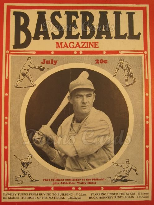 1937 Baseball Magazine    July