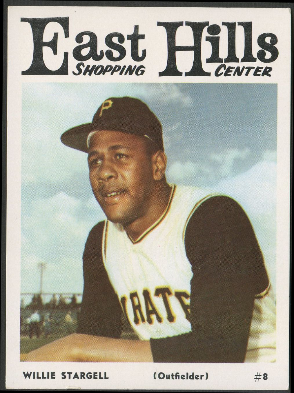 1966 East Hills     Shopping Center Pirates Baseball Complete Set