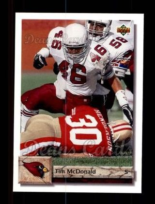 1992 Upper Deck #195  Tim McDonald