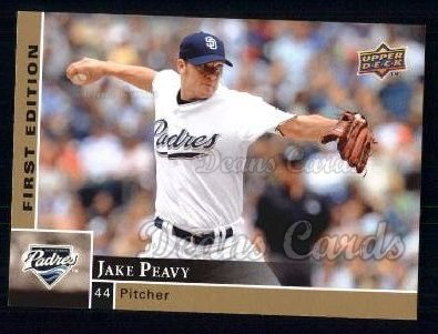 2009 Upper Deck First Edition #239  Jake Peavy