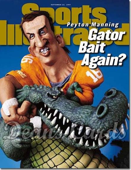 1997 Sports Illustrated - With Label   September 22  -  Peyton Manning (Tennessee Volunteers)