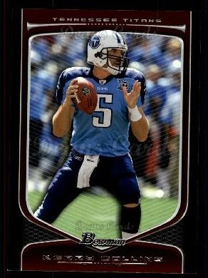 2009 Bowman Draft Platinum #13  Kerry Collins