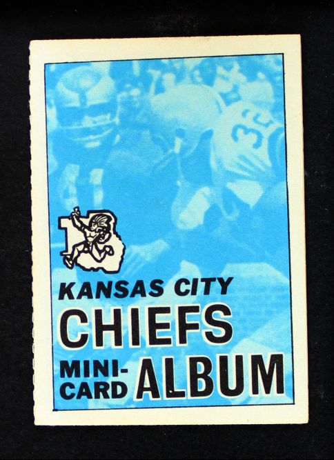 1969 Topps 4-in-1 Football Stamp Albums NO  Kansas City Chiefs