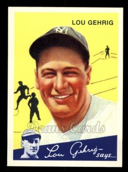 2011 Topps CMG Reprint #24 CMGR  -  Lou Gehrig 1934 Goudey