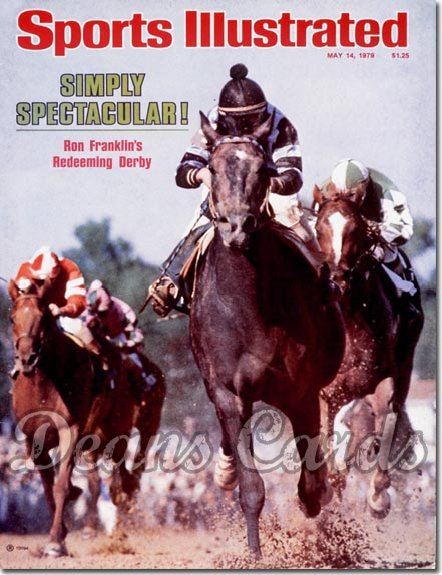 1979 Sports Illustrated - No Label   May 14  -  Spectacular Bid (Kentucky Derby)