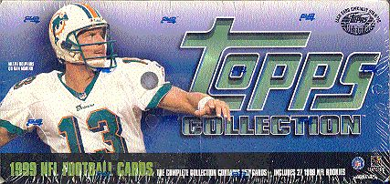 1999 Topps     Football Factory Sealed Complete Set