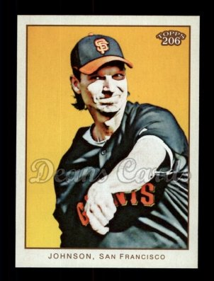 2009 Topps 206 #82  Randy Johnson