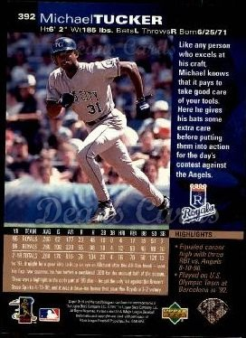 1997 Upper Deck #392  Michael Tucker