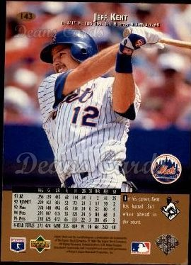 1996 Upper Deck #143  Jeff Kent