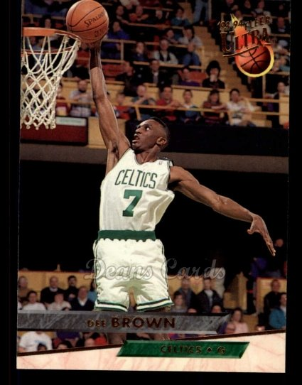 1993 Fleer Ultra #10  Dee Brown